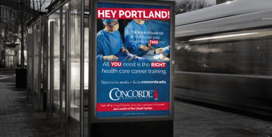 Concorde Transit Ads